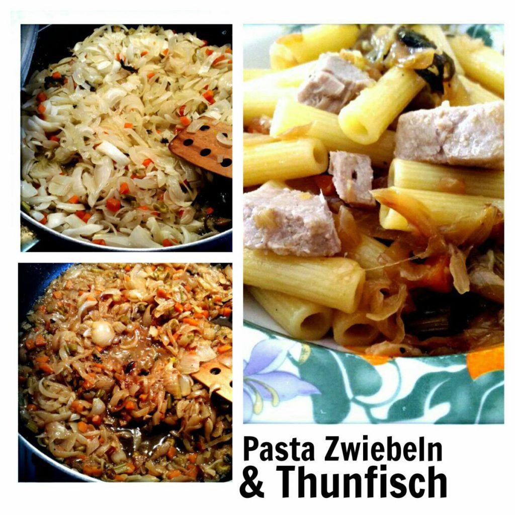 Ein Sommer in Italien Rezept Pasta Thunfisch Zwiebeln