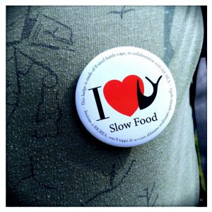 I LOVE SLOW FOOD.